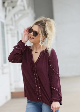 Diamond T Outfitters The Cab Blouse