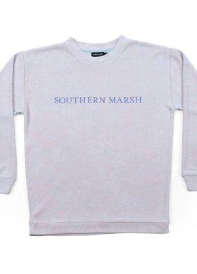 Southern Marsh Sunday Morning Sweater Antigua Blue