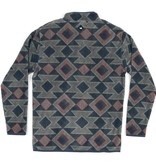 Southern Marsh Adult Pueblo Aztec Pullover Navy/Taupe