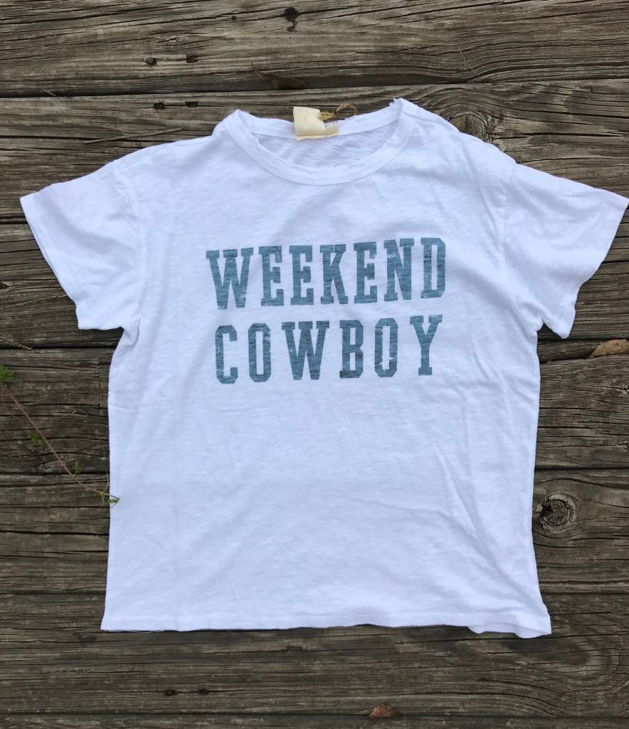 Weekend Cowboy Tee Diamond T Outfitters