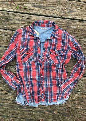 Diamond T Outfitters The Blaze Button Down