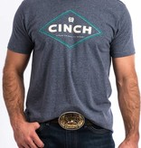 Cinch Cinch Washed Blue Graphic Tee