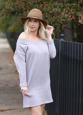 Diamond T Outfitters The Zayne Oversized Sweater Dress