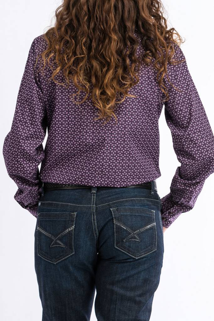 Cinch Cinch Ladies Purple Passion Shirt