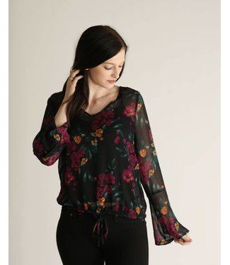 Diamond T Outfitters The Waverly Krinkle Blouse
