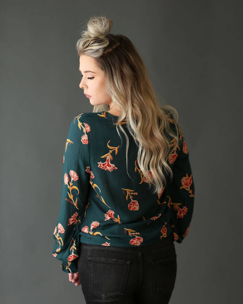 Diamond T Outfitters Ivy Floral Blouse