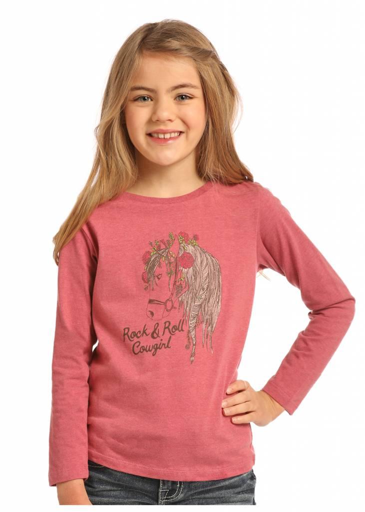 Panhandle Slim Little Girls Gypsy Horse Tee