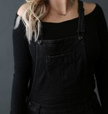 Diamond T Outfitters The Perfect Overall in Black
