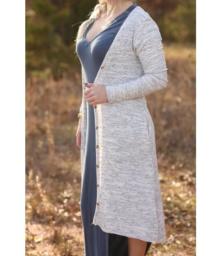 Diamond T Outfitters Oatmeal Duster