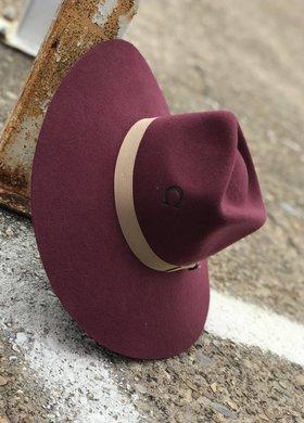 Charlie 1 Horse The Highway Hat Burgandy