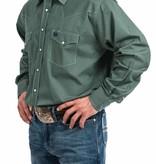 Cinch Cinch Hunter Tiny Print Long Sleeve Shirt