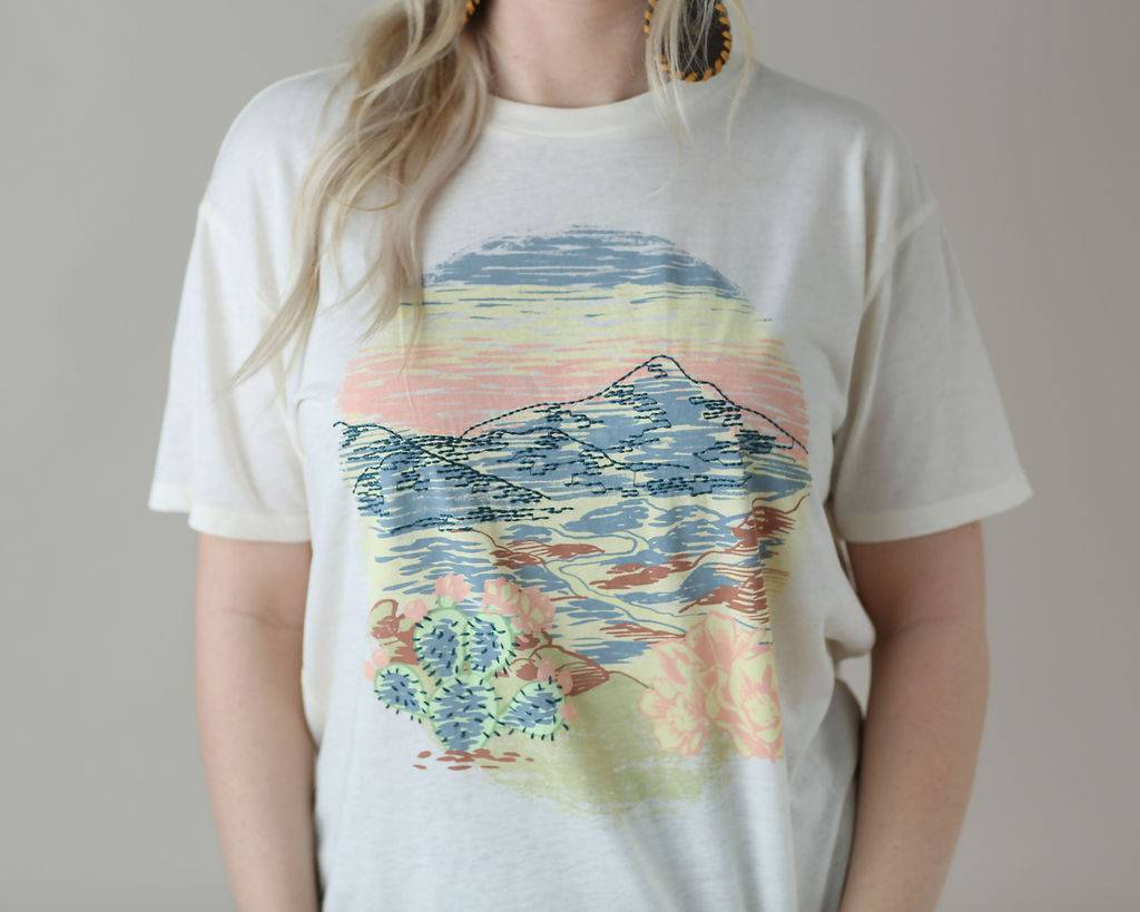 White Crow The Desert Sky Tee