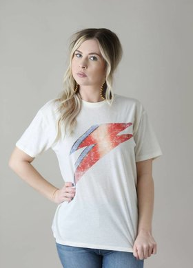 White Crow The Bowie Bolt Tee