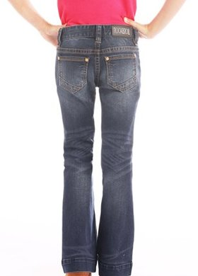 Panhandle Slim Girls Dark Vintage Stretch Trouser