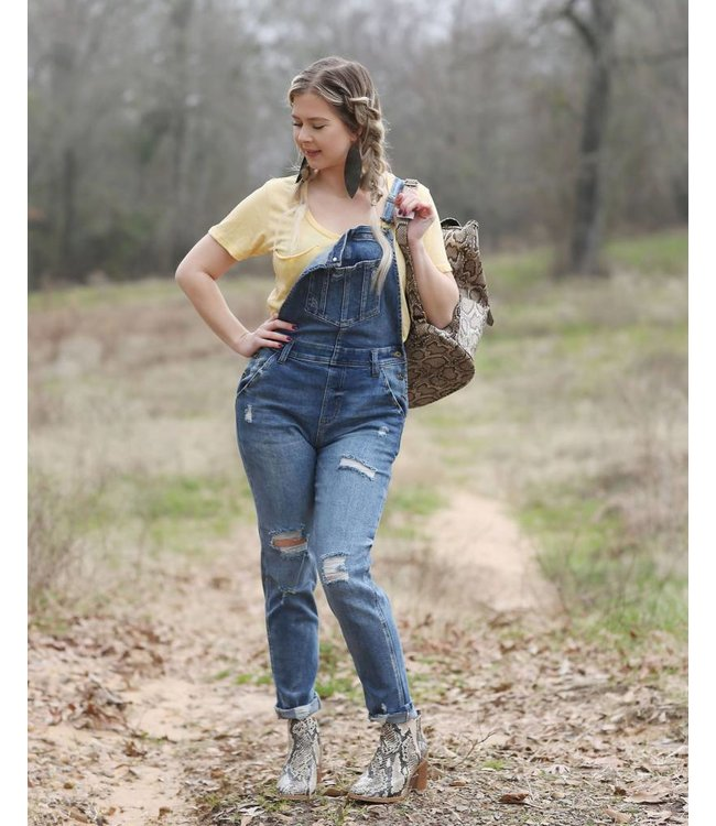 Diamond T Outfitters The Denim Skinny Overall