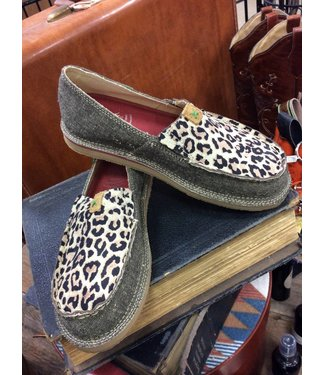 Twisted X Twisted X ECO Casual Leopard Loafer