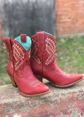 Corral Boot Co Corral Little Red Bootie