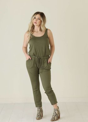 Z Supply The Clover Tank Jumpsuit