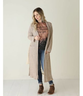 wanderlux Stirling Mixed Cardigan