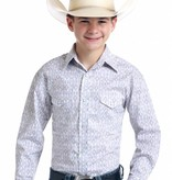 Panhandle Slim Youth Old El Paso Roughstock Pearl Snap