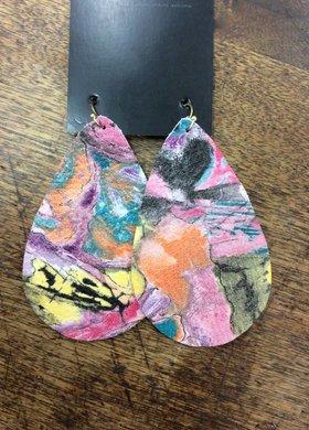 Stamping821 Monet Teardrop Earring