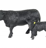 Big Country Toys Angus Cow & Calf Pair