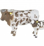 Big Country Toys Longhorn Cow & Calf Pair