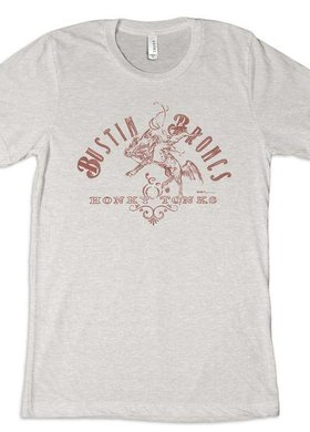 Dale Brisby Bustin Broncs Tee
