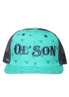Diamond T Outfitters Ol Son Skull Print Cap