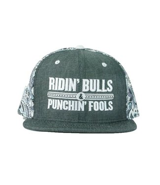 Dale Brisby Ridin' Bulls Paisley Cap