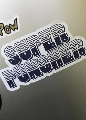 Dale Brisby Super Puncher Decal