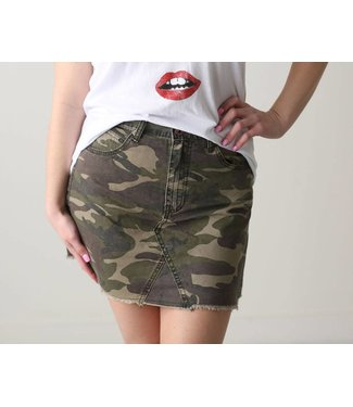 White Crow Camo Skirt