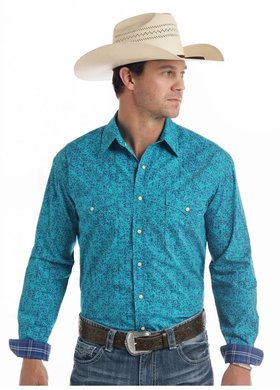 Panhandle Slim Roughstock Tapestry Pearl Snap