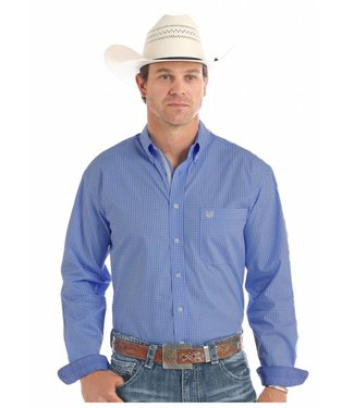 Panhandle Slim Roughstock French Blue Button Down