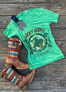 Ranch Swag Lucky Rodeo Co Tee