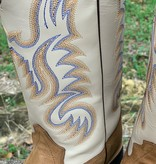 Old West Old West Tan Calf Hide Boot