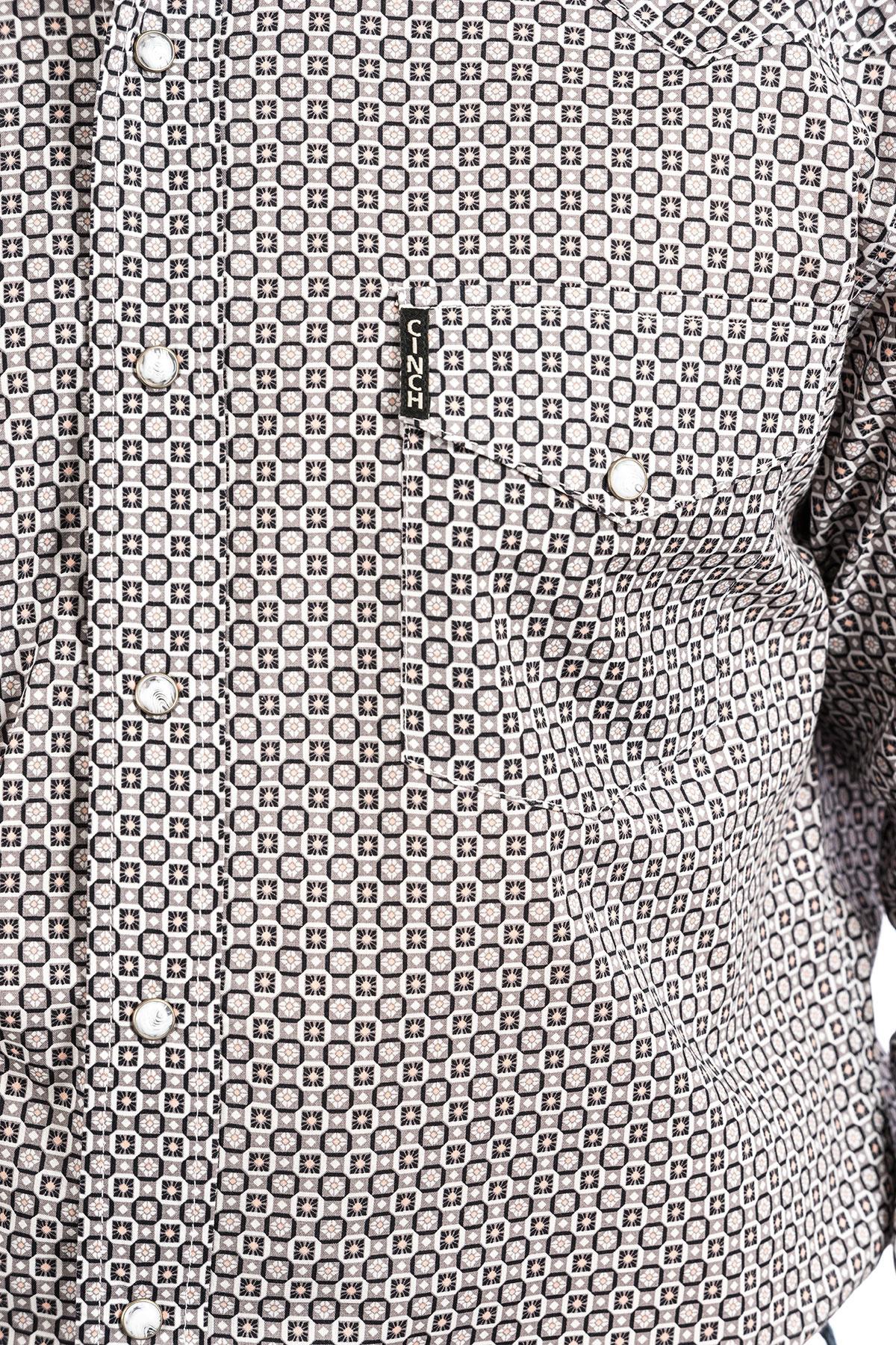 Cinch Cinch Modern Fit Grey Print