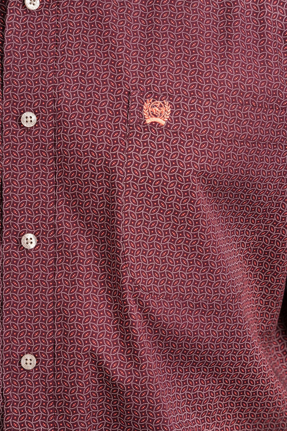 Cinch Cinch Short Sleeve Oval Tiny Print