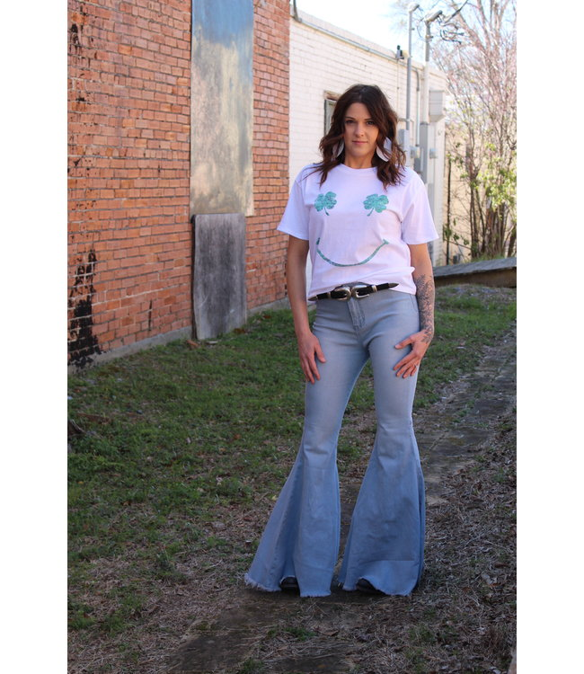 Turquoise Haven The Dolly Bell Bottom
