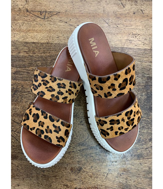 MIA The Lexi Leopard Slide