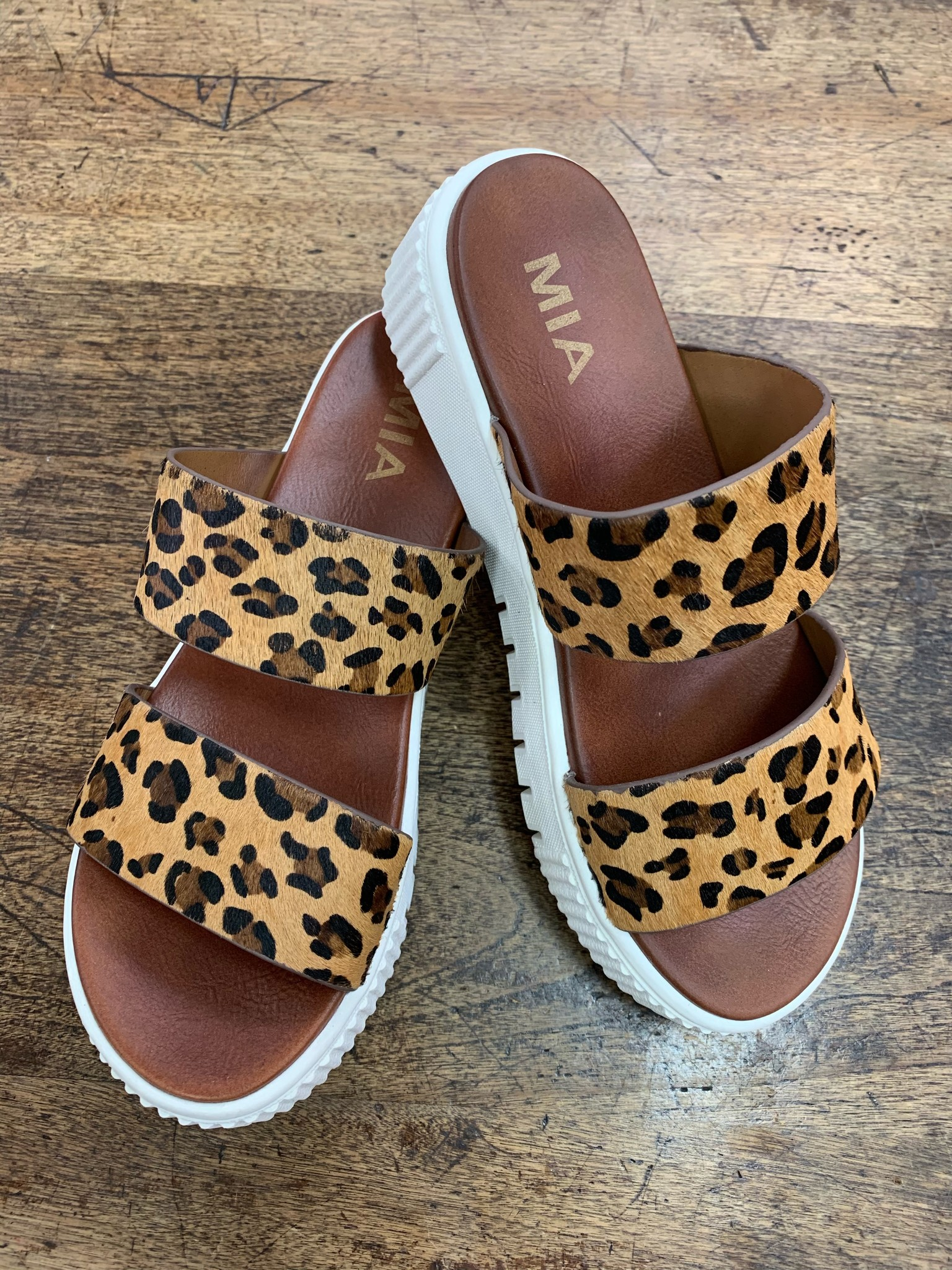 MIA The Lexi Leopard Slide