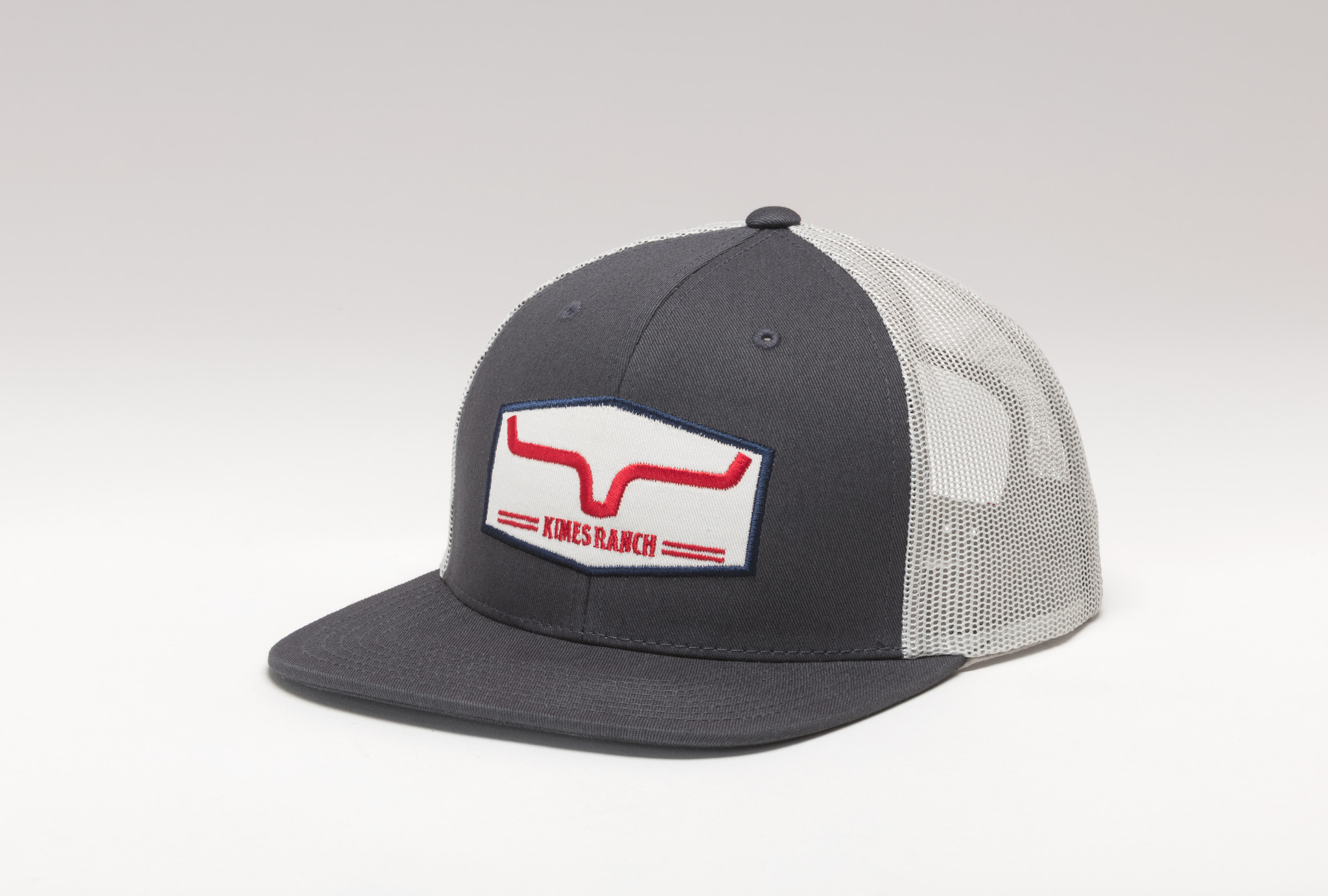 Kimes Ranch Replay Trucker Charcoal