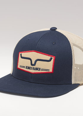 Kimes Ranch Replay Trucker Navy