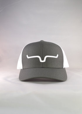 Kimes Ranch Weekly Trucker Charcoal/White