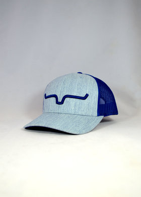 Kimes Ranch Weekly Trucker Blue Heather