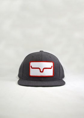 Kimes Ranch Banner Trucker Dark Grey