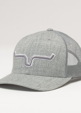 Kimes Ranch Major Leagues Trucker Grey Heather