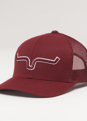 Kimes Ranch Major Leagues Trucker Burgundy
