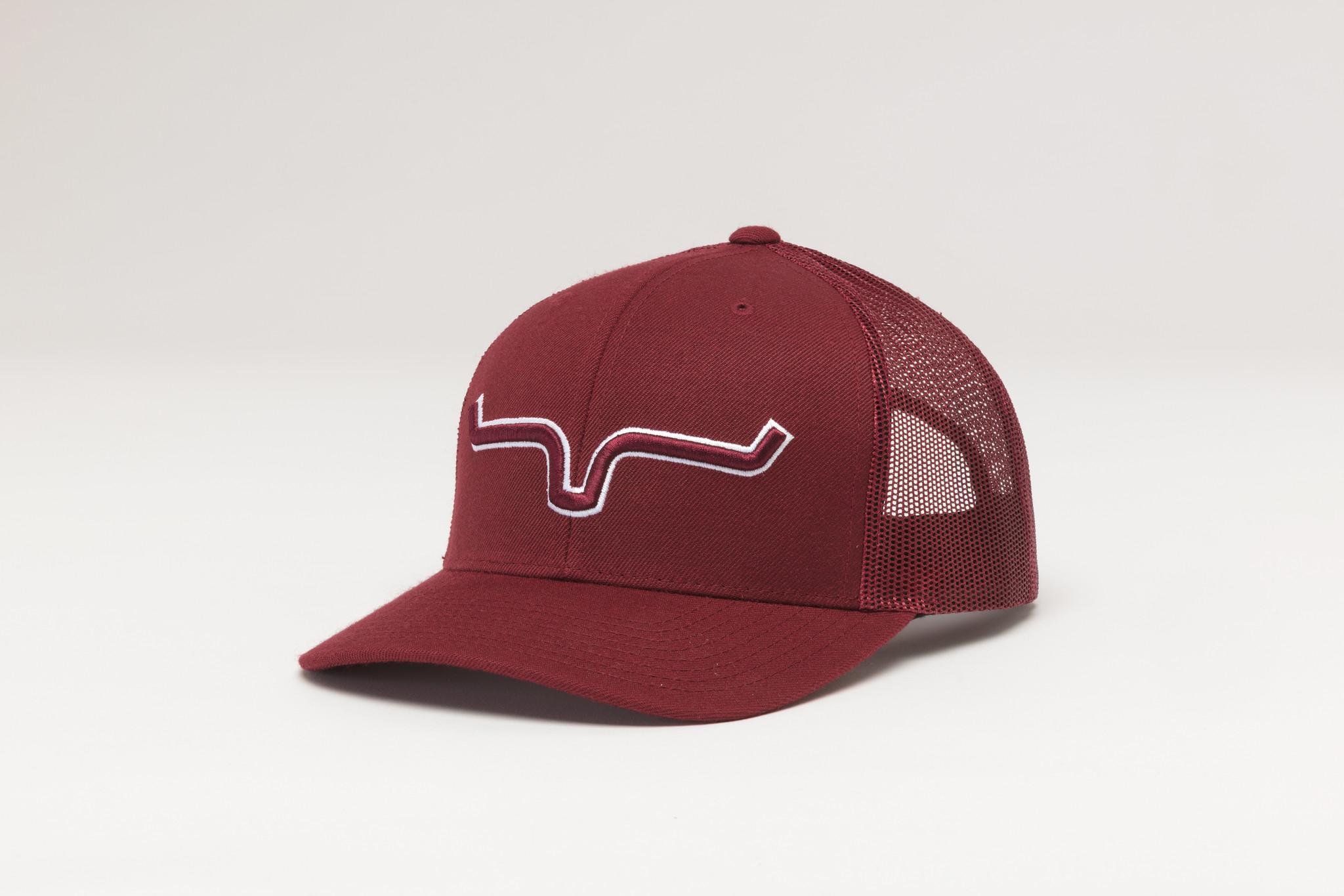 Kimes Ranch Major Leagues Trucker Burgundy