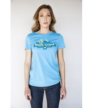 Kimes Ranch Ladies Desert Lands Tee Royal